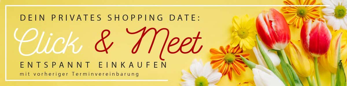 Click & Meet | Shopping mit Termin